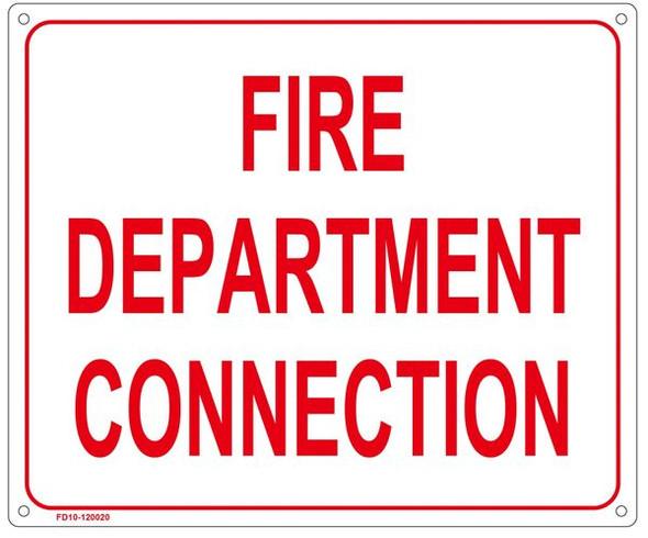 FIRE DEPARTMENT SIGN