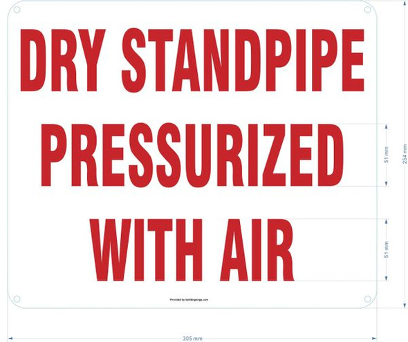 PRESSURIZED AIR SIGN