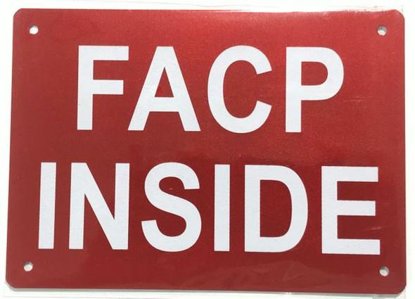 FACP INSIDE Dob SIGN