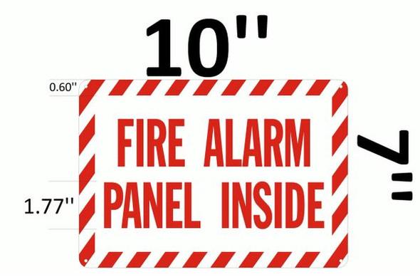 FIRE ALARM Dob SIGN