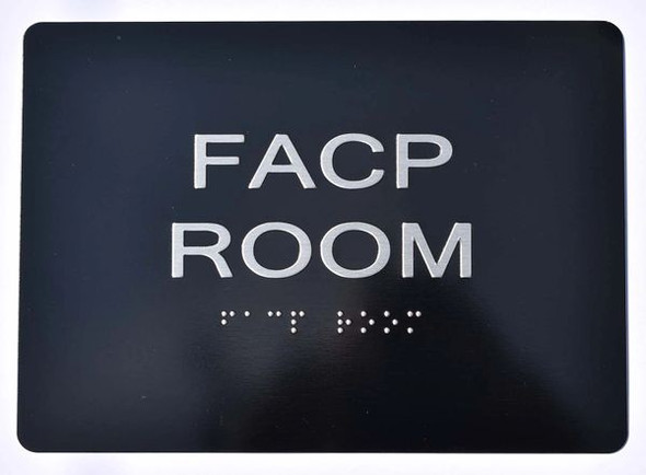 FACP ROOM SIGN Tactile Signs   Ada sign