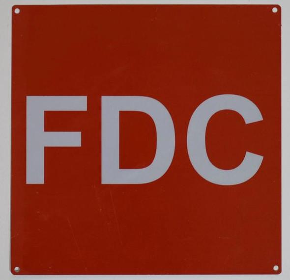 FDC Signage-  ALUMINUM