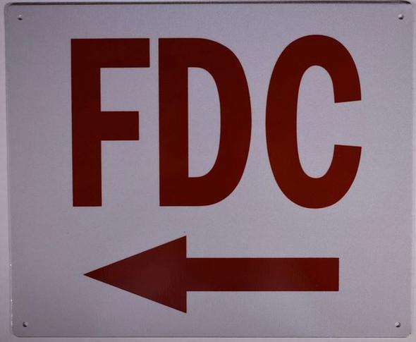 FDC LEFT Signage