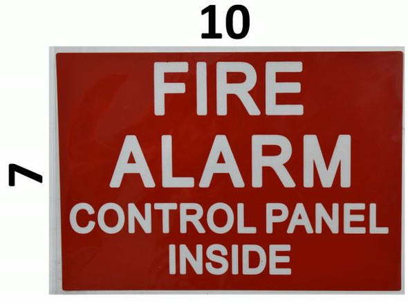 FIRE ALARM HPD Sign