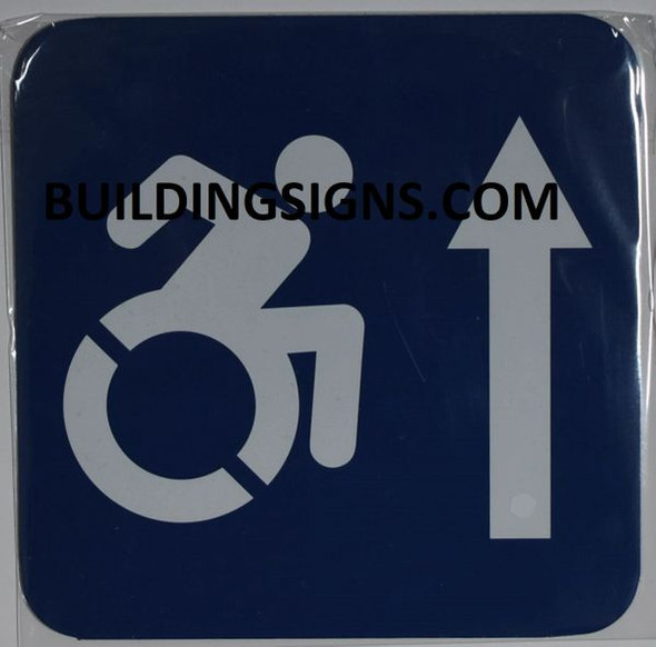 ACCESSIBLE AT THE FRONT HPD SIGN