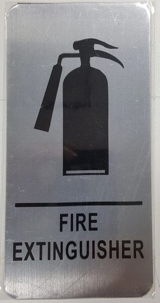FIRE EXTINGUISHER HPD SIGN