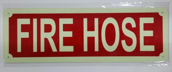 FIRE HOSE HPD SIGN