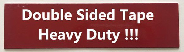 PLEASE CLOSE THE DOOR SIGNAGE - BRUSHED ALUMINUM