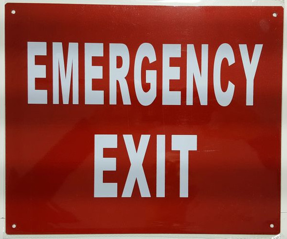 EMERGENCY EXIT SIGN for Building