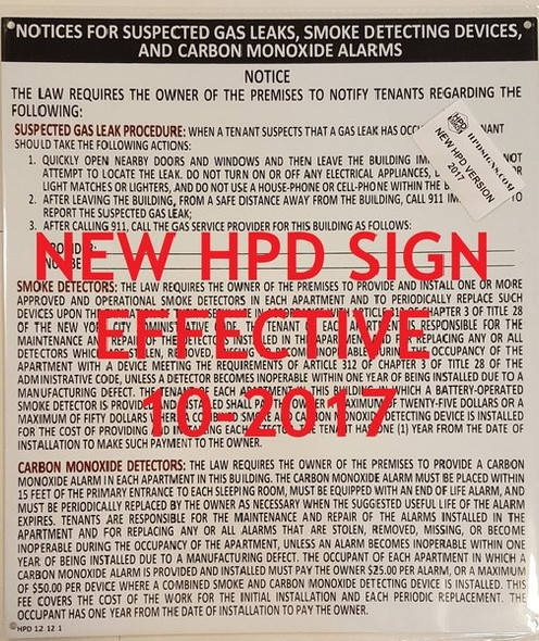 NYC HPD Combined Notice