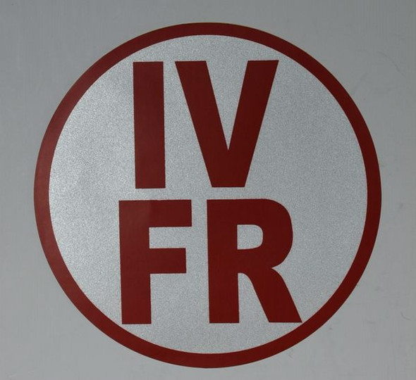 FLOOR AND ROOF TRUSS IDENTIFICATION- TYPE IV SIGNAGE (STICKER, WHITE)