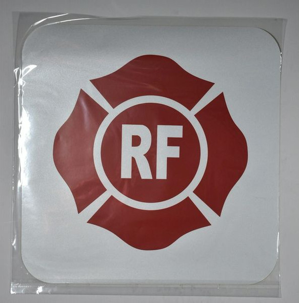 ROOF AND FLOOR TRUSS IDENTIFICATION SIGNAGE (STICKER ) WHITE