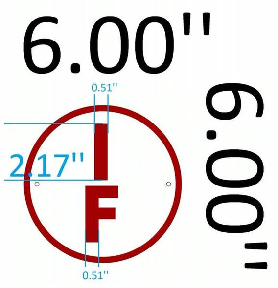FLOOR TRUSS IDENTIFICATION Signage-TYPE I