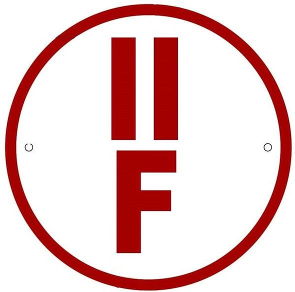 FLOOR TRUSS IDENTIFICATION SIGN-TYPE II