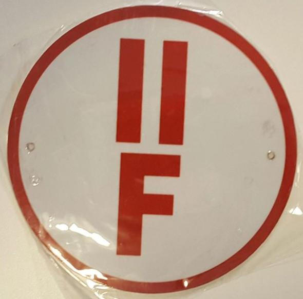 FLOOR TRUSS IDENTIFICATION SIGN-TYPE II for Building