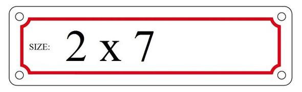 AUXILIARY DRAIN HPD SIGN