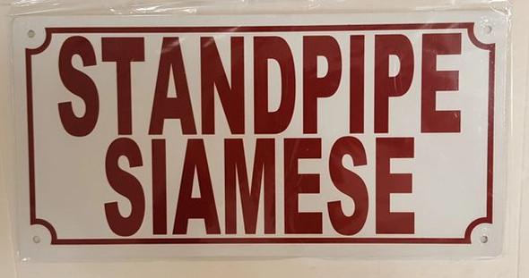 STANDPIPE SIAMESE Signage