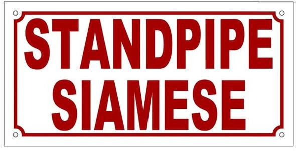 STANDPIPE SIAMESE SIGN