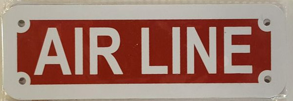 AIR LINE HPD SIGN