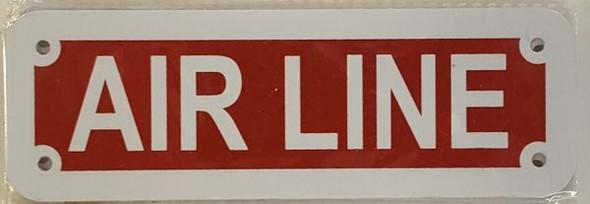 AIR LINE HPD SIGN