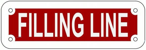 FILLING LINE SIGN