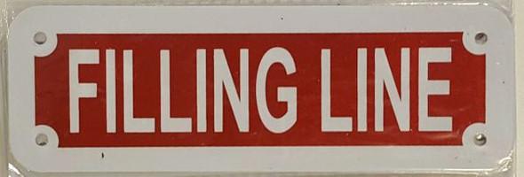 FILLING LINE HPD SIGN
