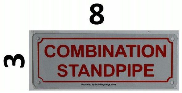 COMBINATION STANDPIPE HPD SIGN