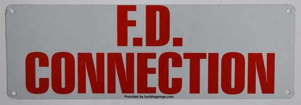 FD CONNECTION HPD SIGN