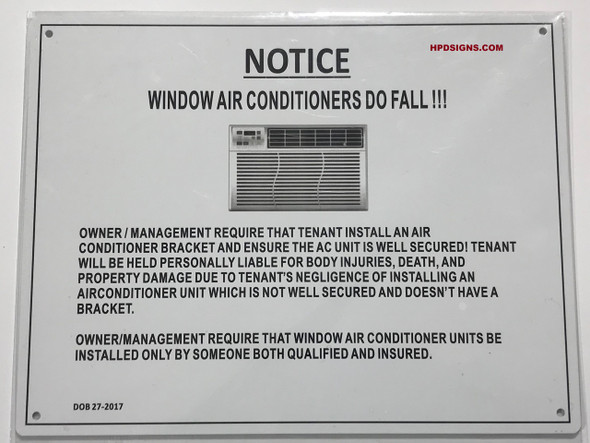 AIR CONDITION SIGN