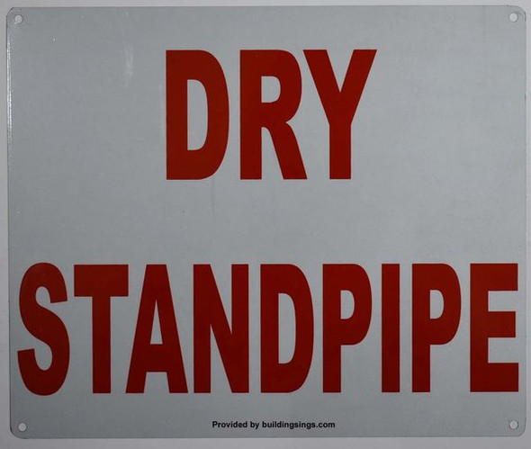 DRY STANDPIPE HPD SIGN
