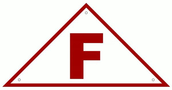 FLOOR TRUSS IDENTIFICATION SIGN