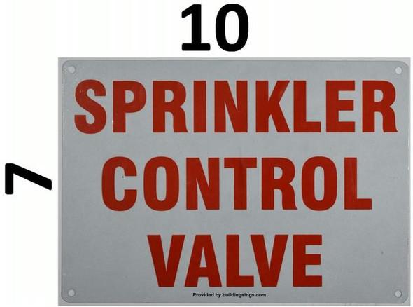 SPRINKLER CONTROL VALVE HPD SIGN