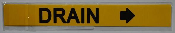 DRAIN Dob SIGN