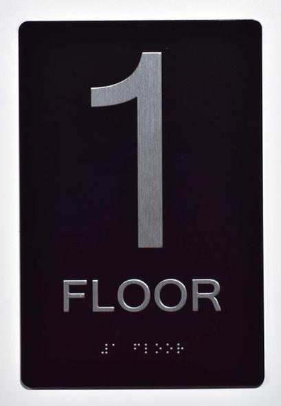 1ST FLOOR  ADA SIGN Tactile Signs   Ada sign