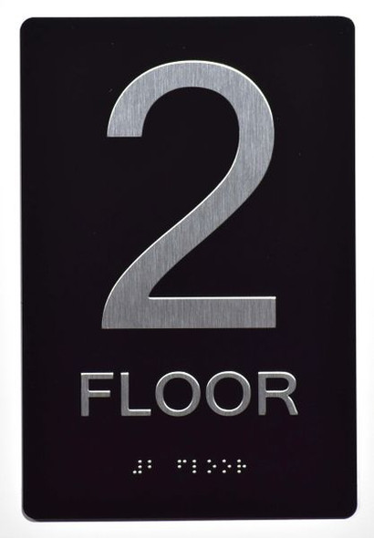 2ND FLOOR SIGN