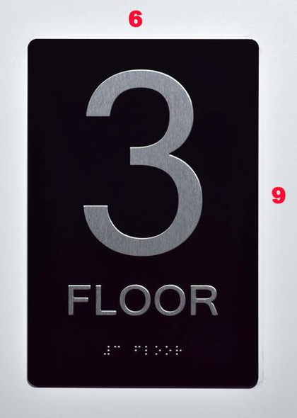 3rd FLOOR SIGN for Building