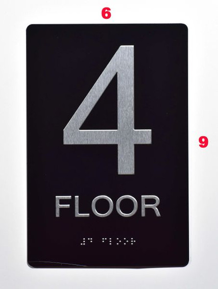 4th FLOOR SIGN for Building