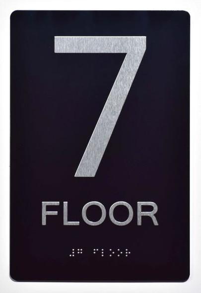 7th FLOOR SIGN ADA -Tactile Signs   Ada sign