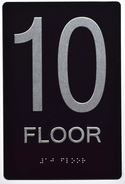 10th FLOOR SIGN for Building
