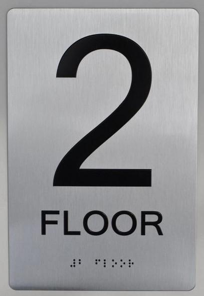 2ND FLOOR ADA SIGN