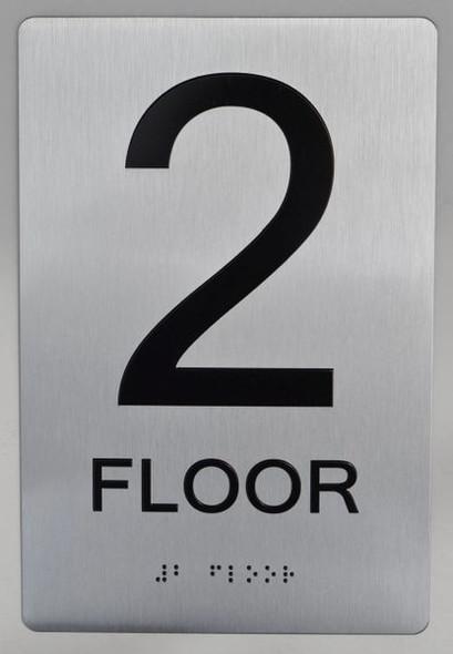 2ND FLOOR ADA SIGN for Building
