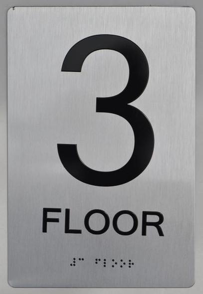 3rd FLOOR ADA SIGN