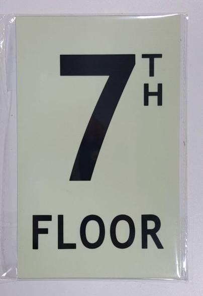 7TH FLOOR SIGN