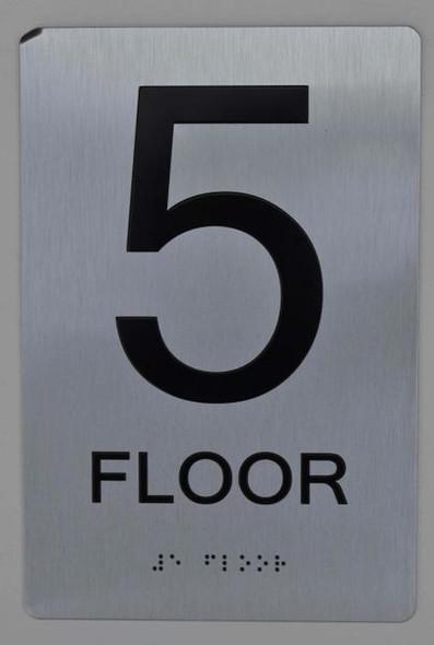 5th FLOOR ADA SIGN