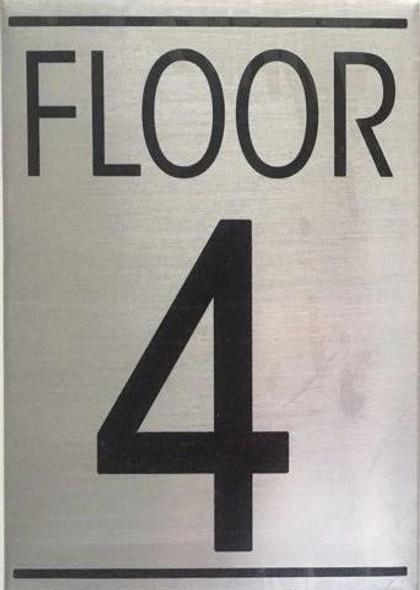 FLOOR NUMBER Sign-TH FLOOR Sign