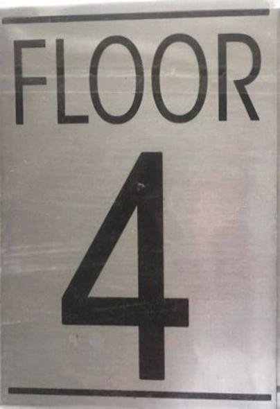 FLOOR NUMBER Signage-TH FLOOR Signage