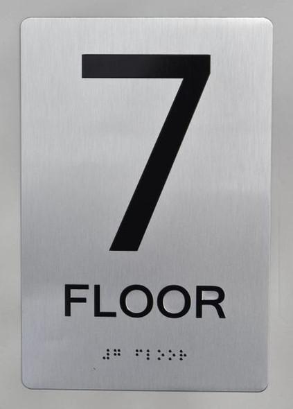 7th FLOOR ADA SIGN