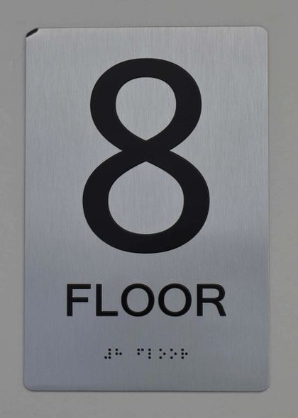 8th FLOOR ADA SIGN