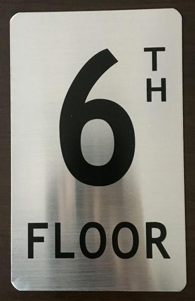 FLOOR NUMBER Sign -TH FLOOR Sign