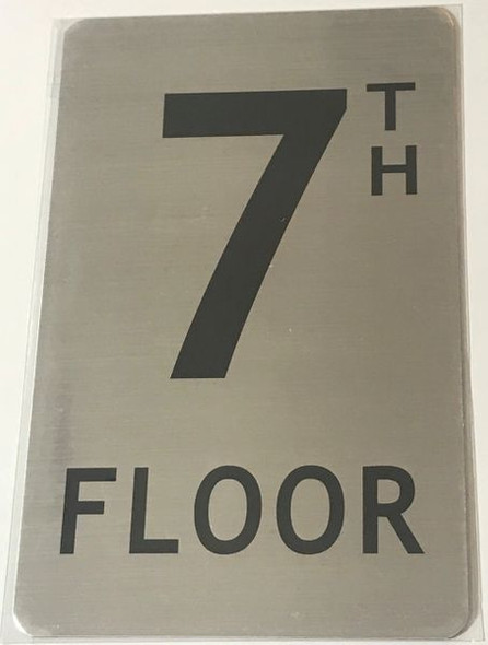 7TH FLOOR SIGN for Building